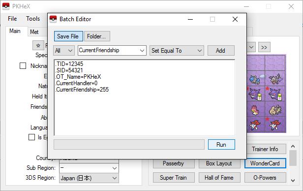 batch editor guide · Issue #516 · kwsch/PKHeX · GitHub