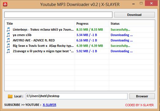 GitHub - X-SLAYER/Youtube-MP3-Downloader: Download Youtube