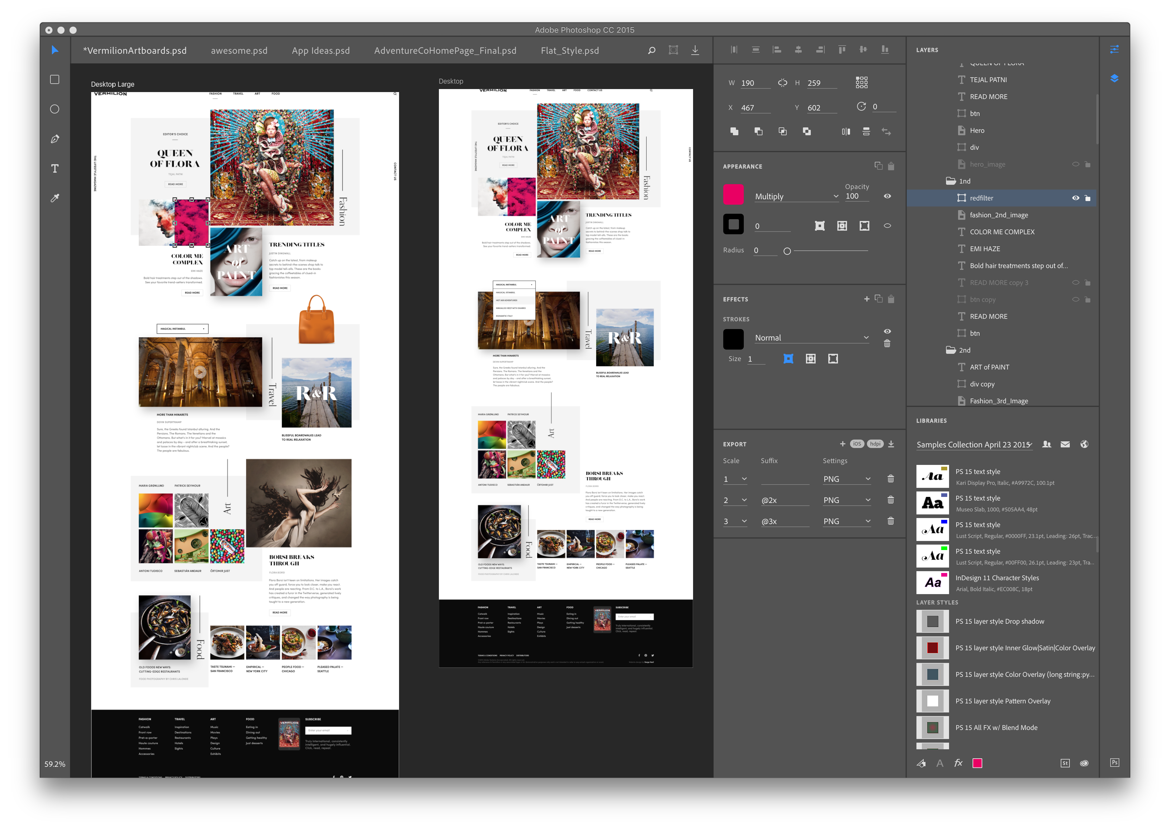 Photoshop Design Space (Preview)