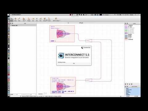 Lumerical INTERCONNECT simulations