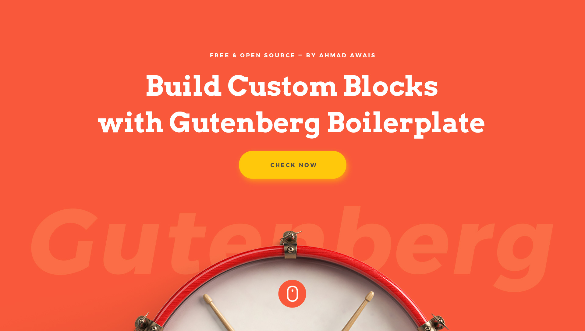 ⚡️WordPress Gutenberg Boilerplate