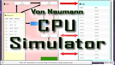 Von Neumann CPU Simulator for OCR A Level