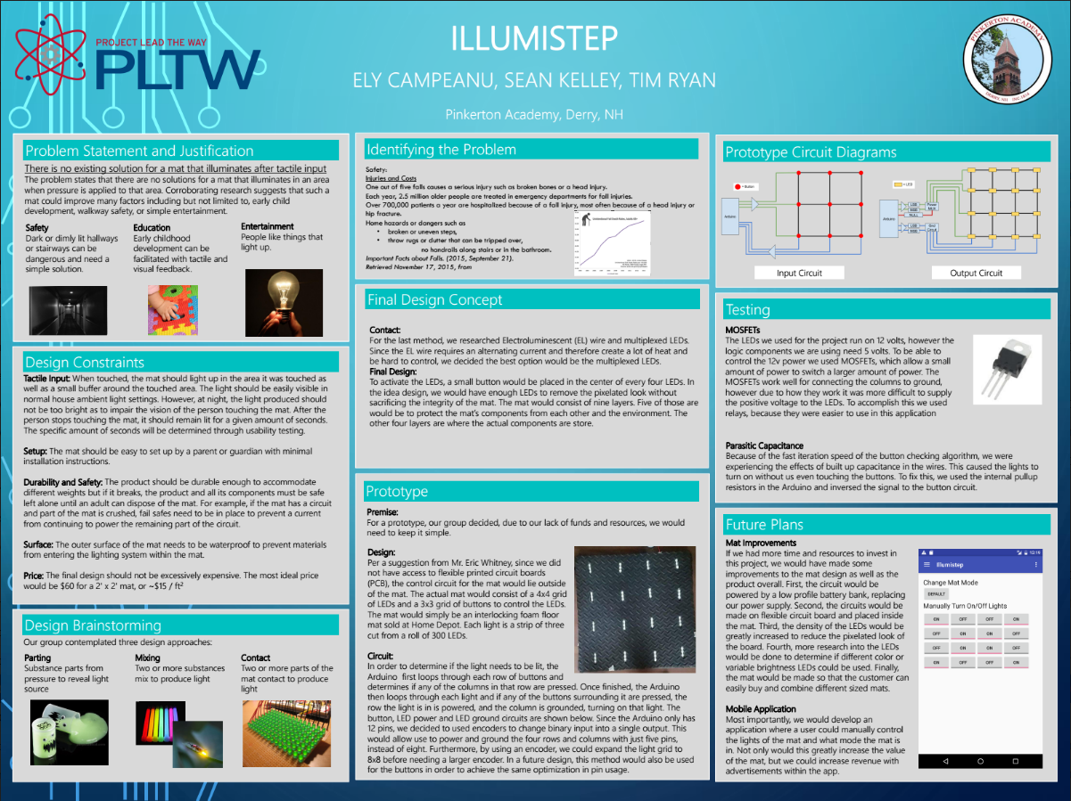 Illumistep Poster Preview