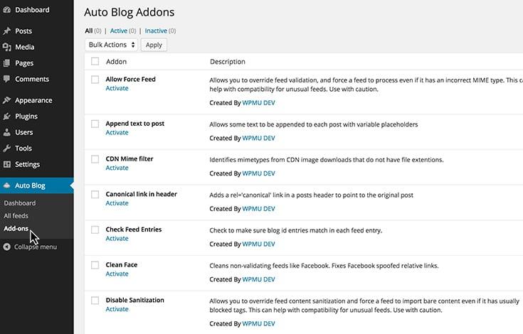 autoblog-addons
