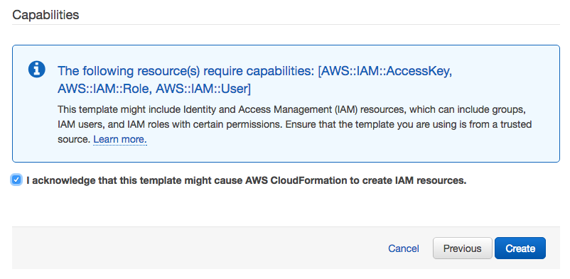 CloudFormation Step 3