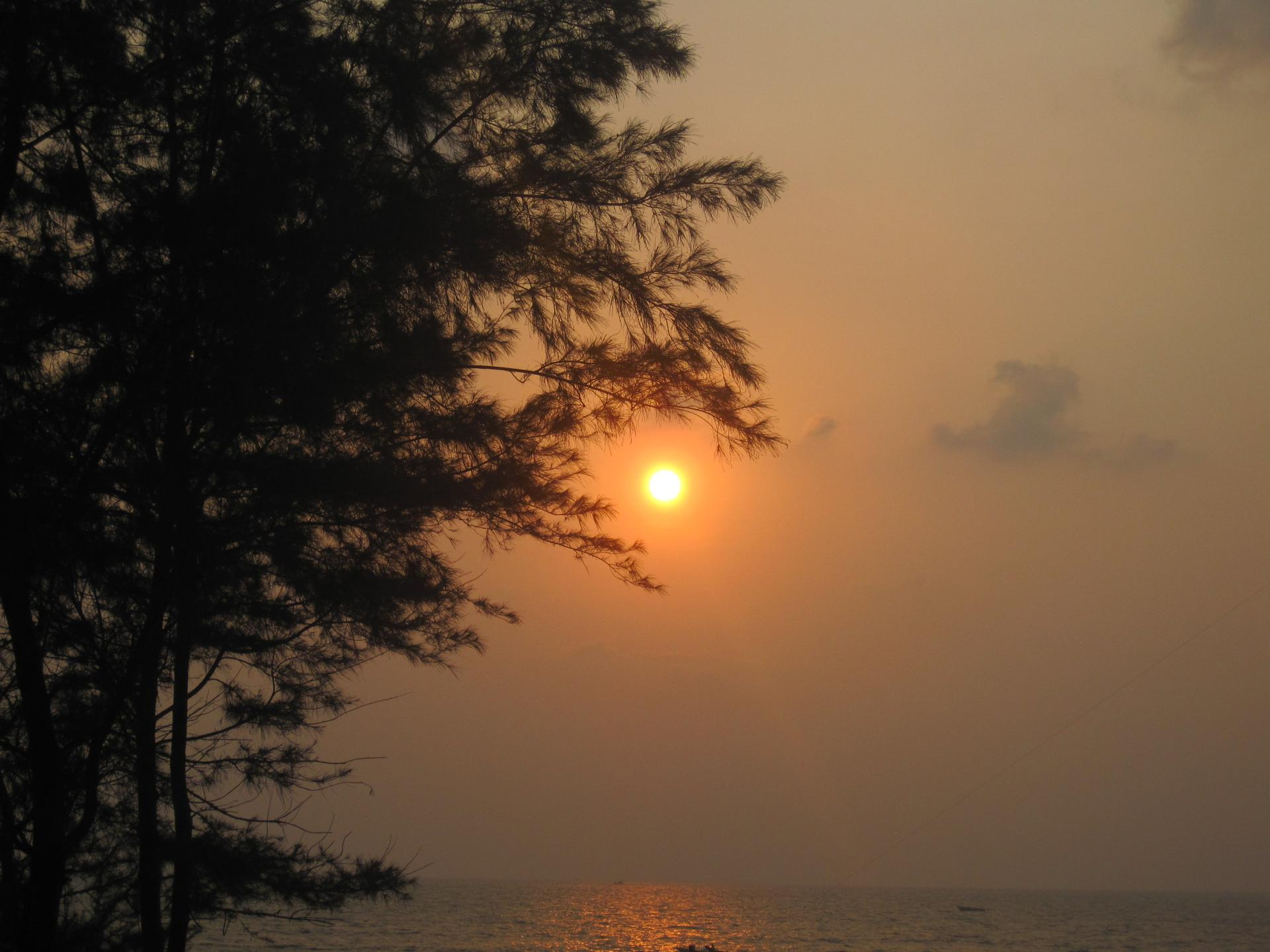 Sunset at Benaulim