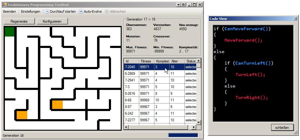 GitHub - sunsided/maze-evolution: Maze solving using genetic