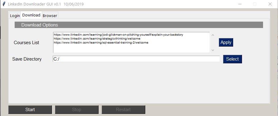 GitHub - r00tmebaby/LinkedIn-Downloader: LinkedIn DL is a