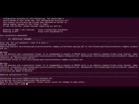 Letsencrypt SSL Installation