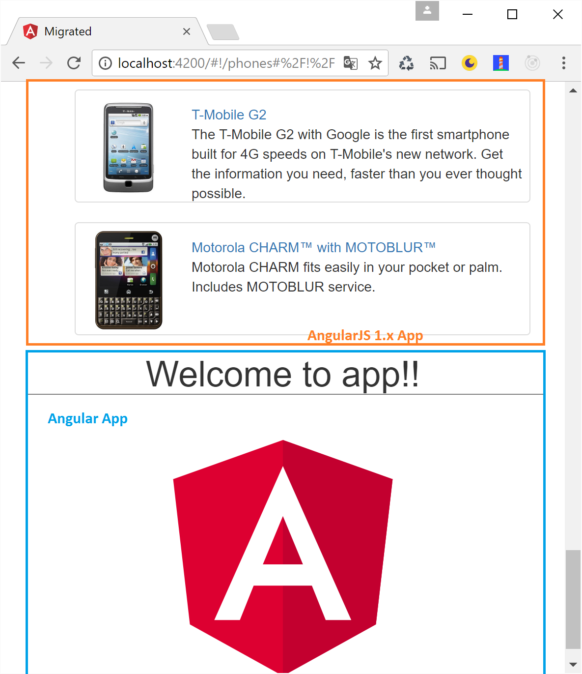 Directly upgrading from AngularJS 1 x to Angular without preparing