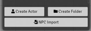 npc import button