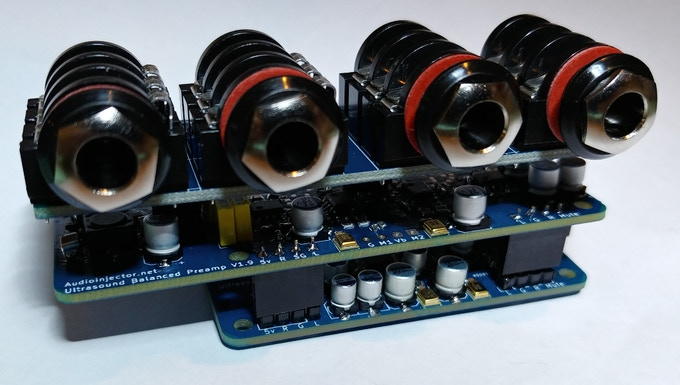Audio Injector Ultra 2 assembly video