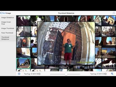 Composite thumbnaild and slideshow view