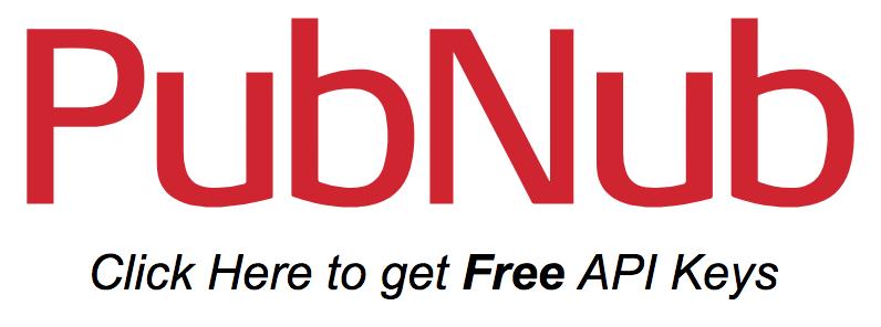 PubNub Signup