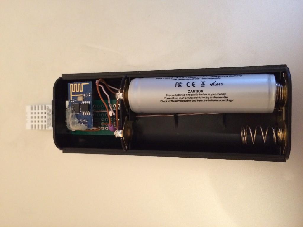 esp8266 battery powered dht22 with deep sleep on esp-01