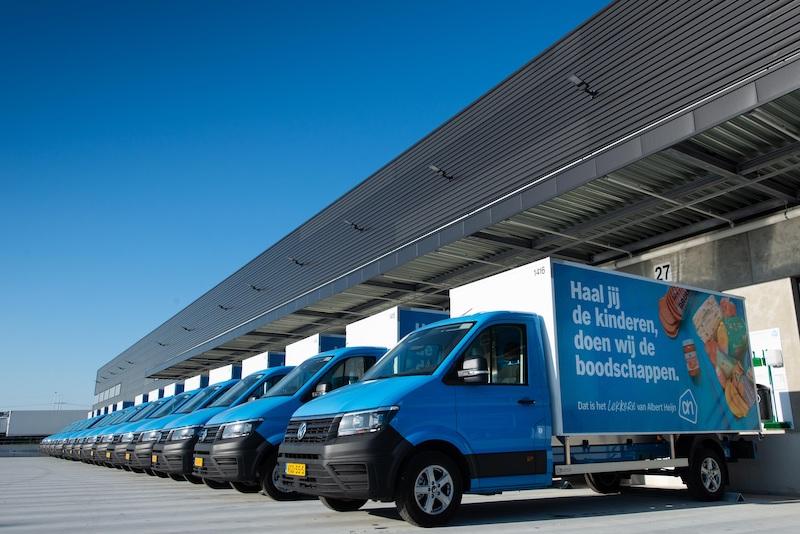 Ahold Delhaize: Fleet of trucks