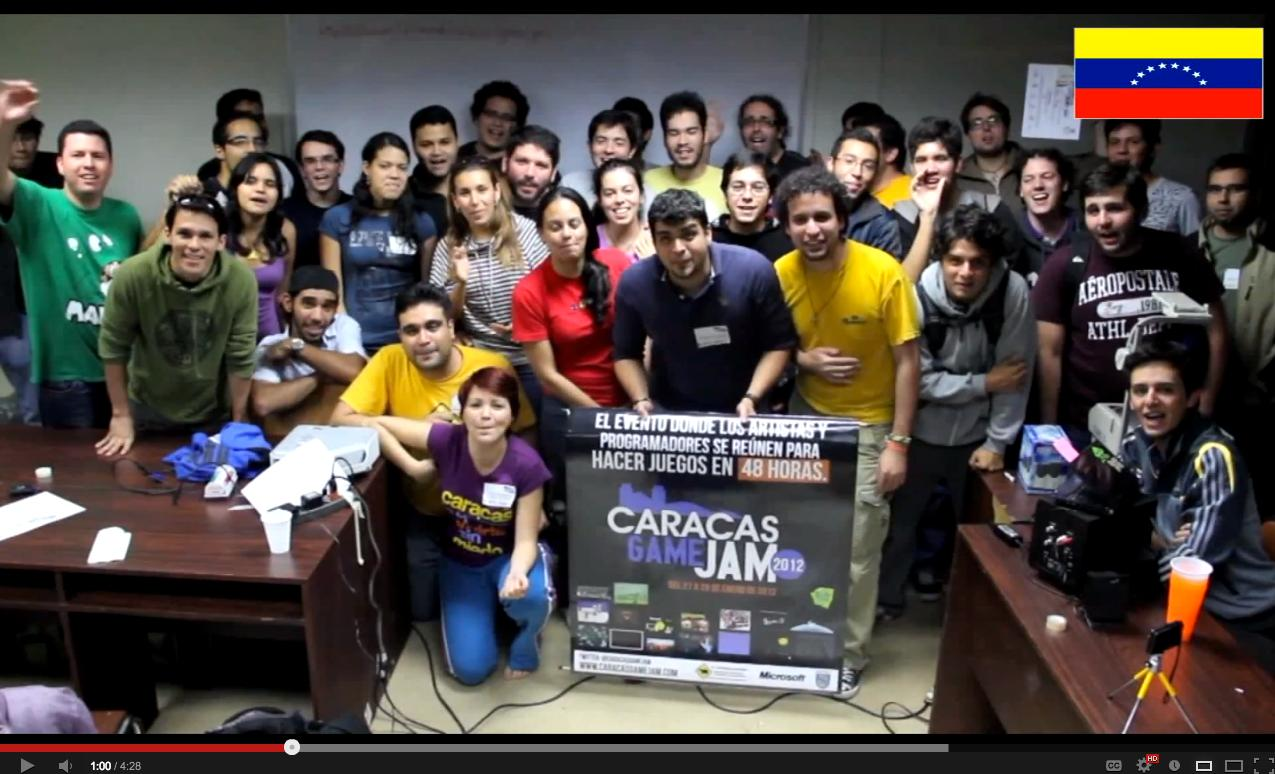 What is the Global Game Jam video