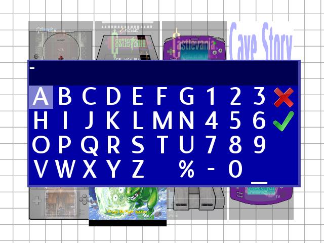 OSD Keyboard