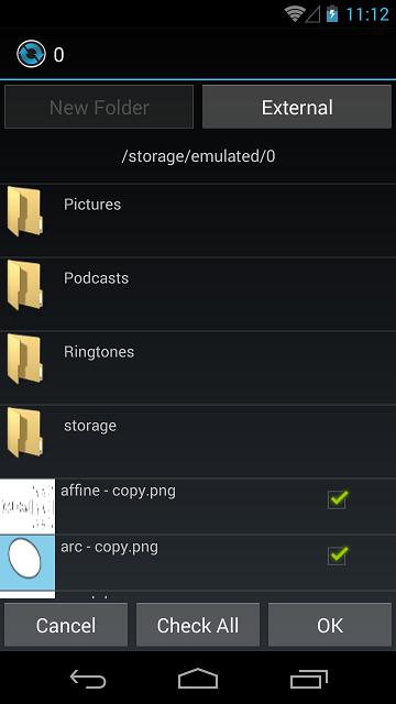 android ringtone picker dialog