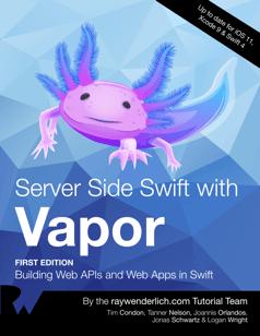 Server Side Swift with Vapor Book