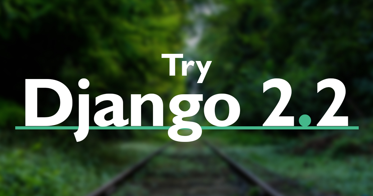 GitHub - codingforentrepreneurs/Try-Django-2 2: Try Django