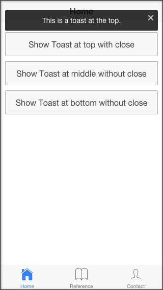 ionic-toast top