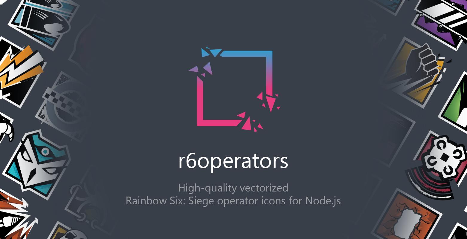 r6operators Header Image