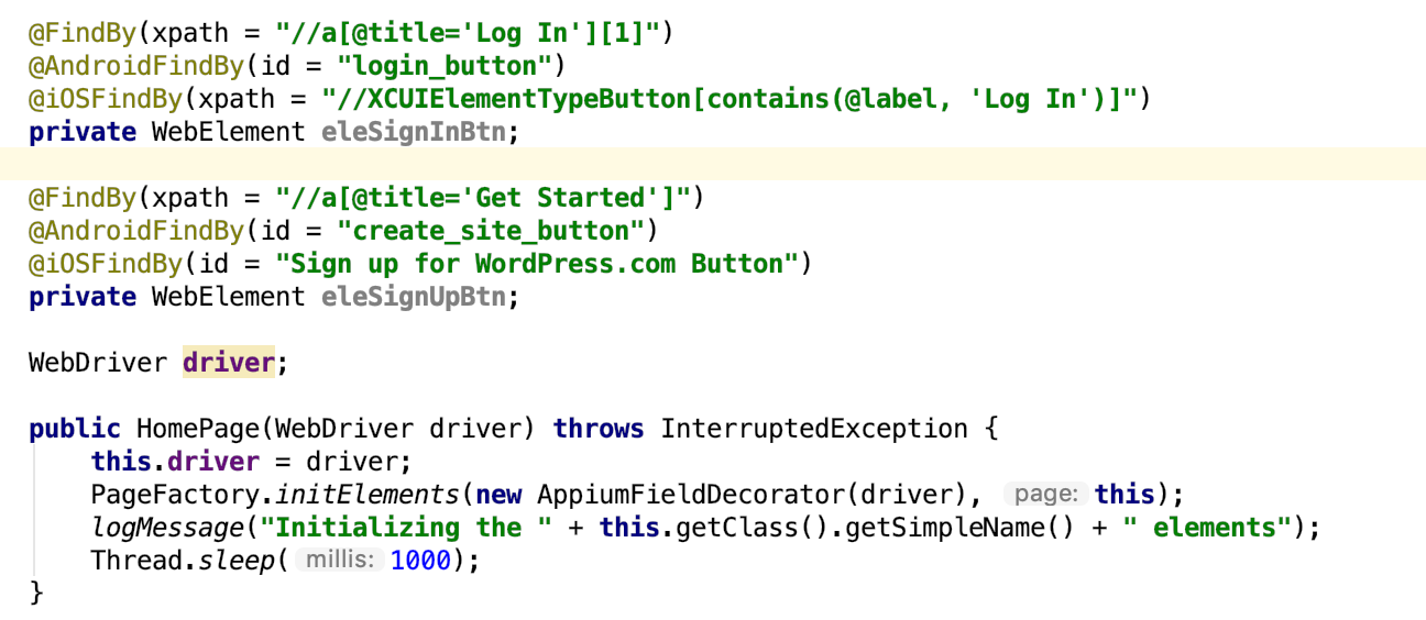 Automation for iOS, Android, & Web Apps with one codebase. Like it, Star it & spread the word !!!