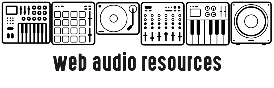 GitHub - alemangui/web-audio-resources: A list of curated web audio