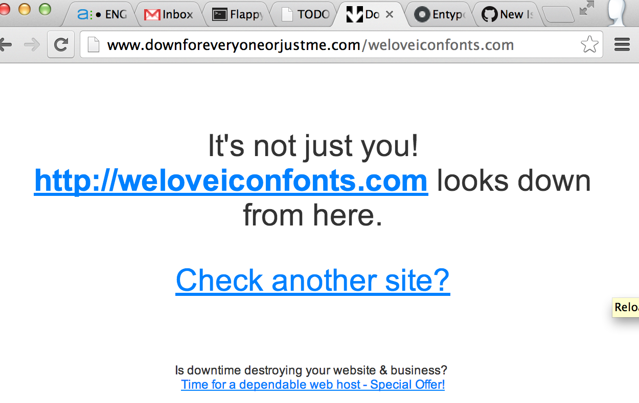 Do Not Rely On Weloveiconfontscom For Entypo Font Lib Issue 48