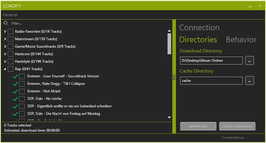GitHub - broonie89/loadify-1: Spotify Downloader written in  NET for