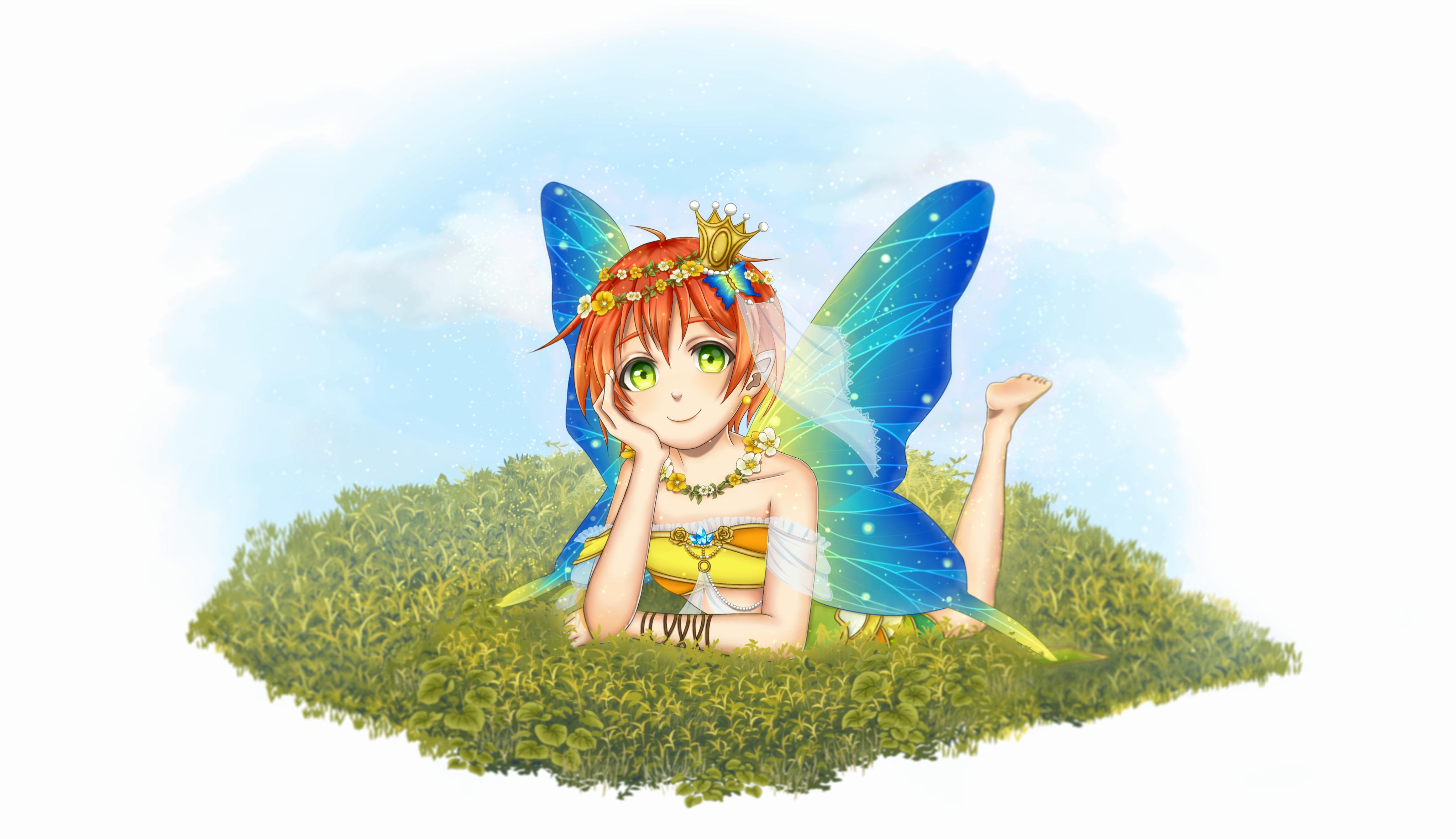 fairy rin art by Minka