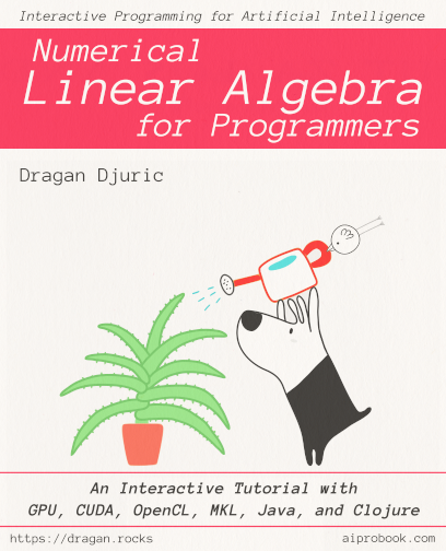 Numerical Linear Algebra for Programmers: An Interactive Tutorial with GPU
