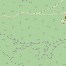 Showing a cliff on openstreetmap.org