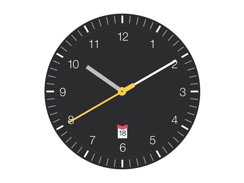 Clock Saver Screenshot