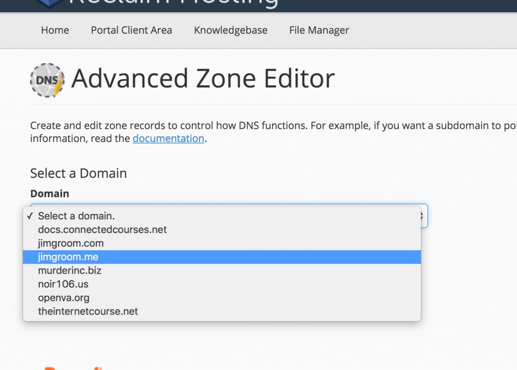 Root Domain