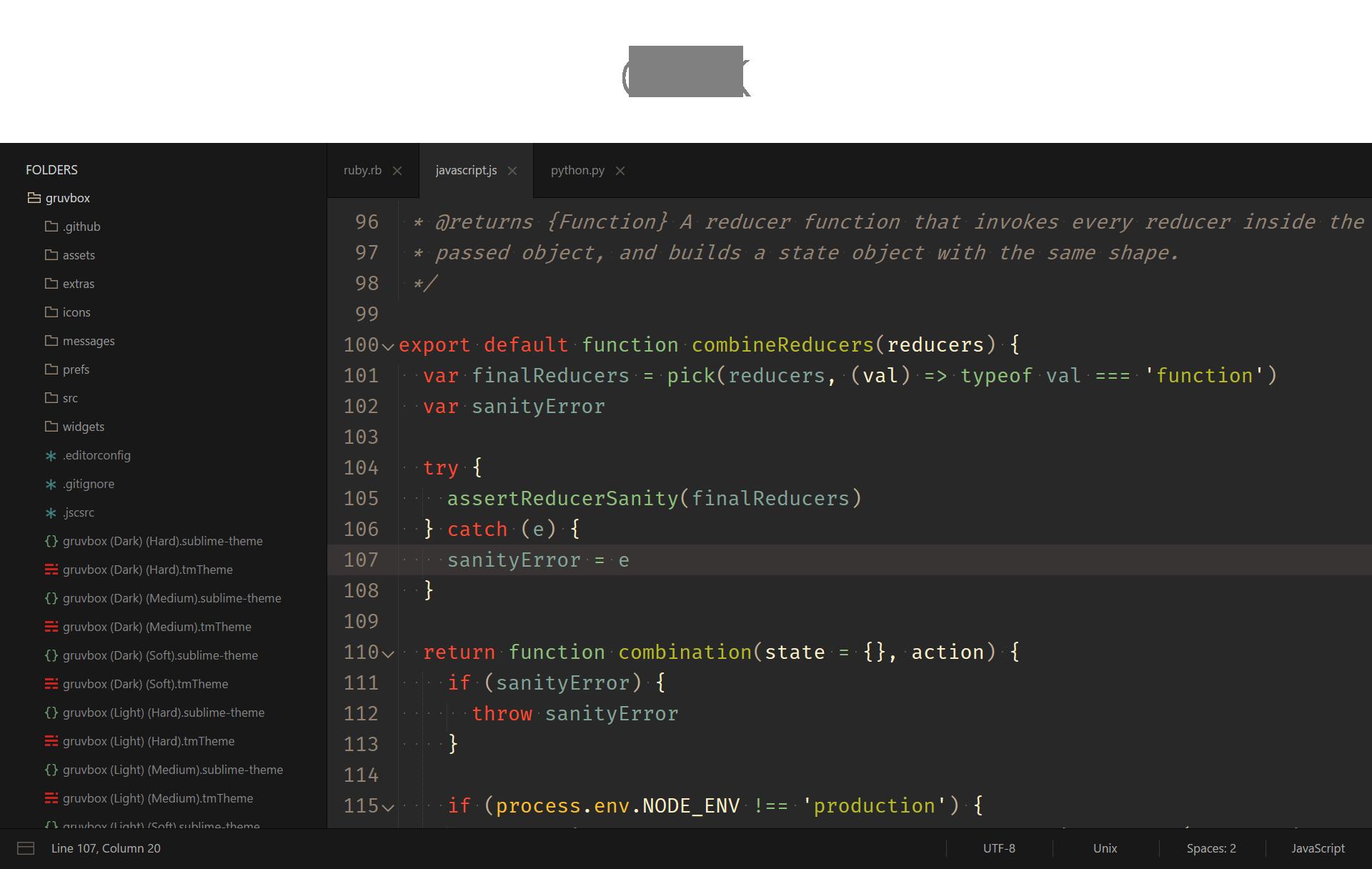 Screenshot Dark
