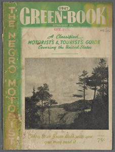 Green Book cover, 1947