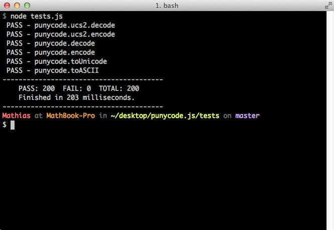 QUnit CLIB brings QUnit to your favorite shell.