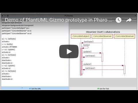 Demo video of prototype