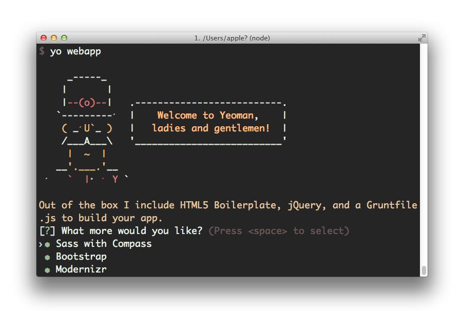 webapp-generator