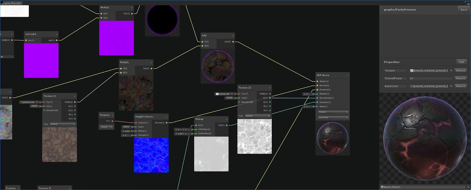 ScriptableRenderPipeline/com unity shadergraph at master · Unity