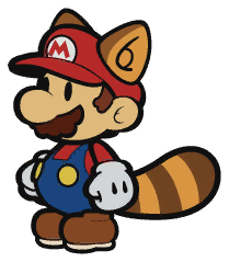 Tanooki Paper Mario - darkfeather1790