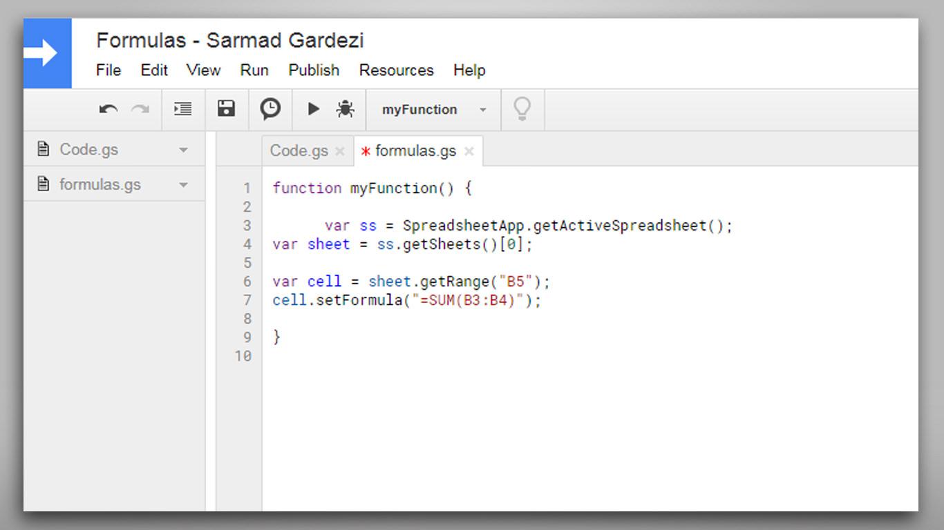 Github Sarmadgardezi Google Spreadsheet Formulas How To Add