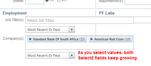 Multi-Select Fields with Percentage-Based Widths Don't Scale
