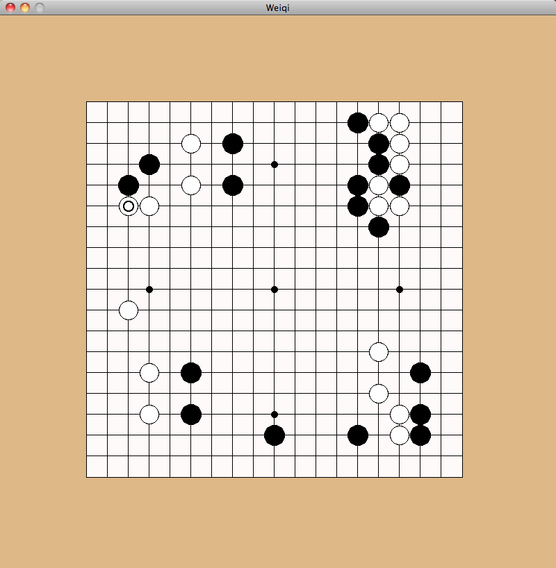 Screenshot of Weiqi