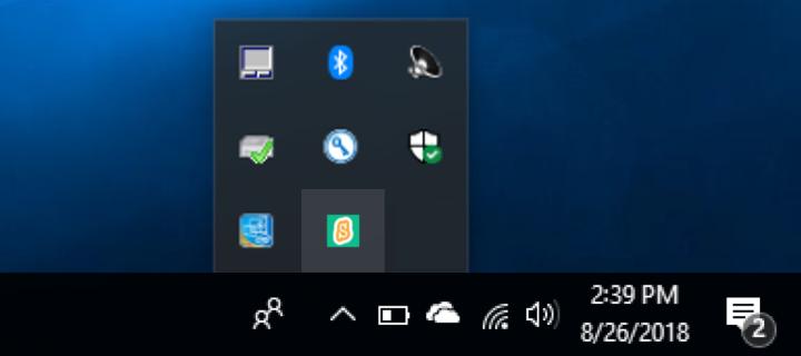 scratchlink windows toolbar