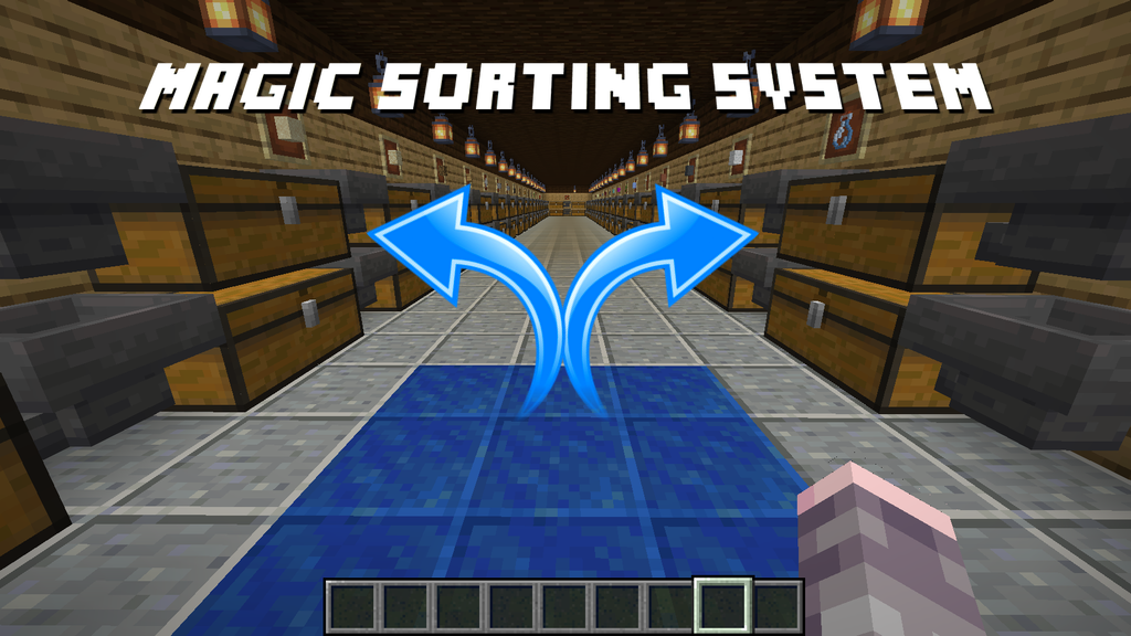 Github Jhuckaby Magic Sorting System A Data Pack For Minecraft 1 13 1 14 And 1 15 Java For Automatically Sorting Every Item In The Game