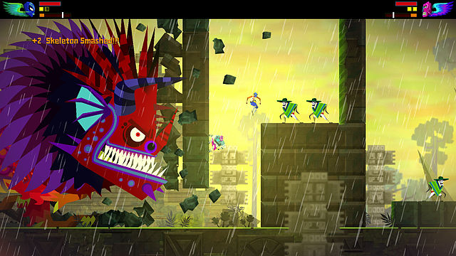 Guacamelee boss fight