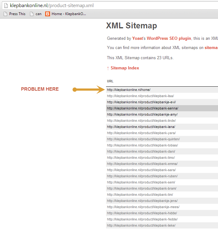 woocommerce shop base page in products xml sitemap issue 512